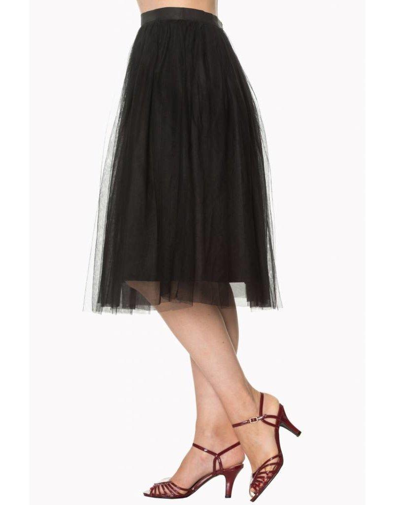 BANNED FreeFall Black Skirt