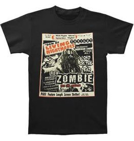 Rob Zombie Living Nightmares Shirt Small
