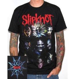 Slipknot Band Member Faces Shirt