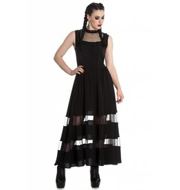 HELL BUNNY - Bellatrix Maxi Dress Black