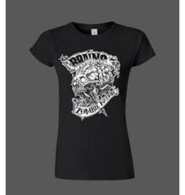 Brains Zombie Nation Tiny (Womens)