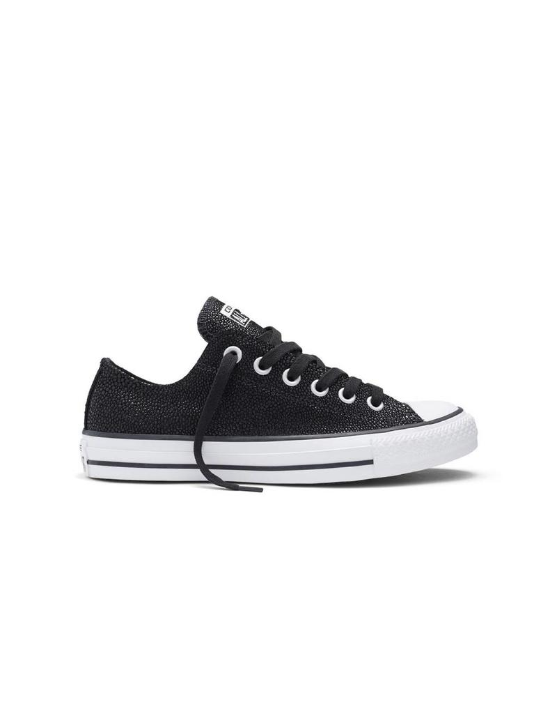 CONVERSE CHUCK TAYLOR STINGRAY METALLIC OX BLACK/BLACK C10MS-553349C