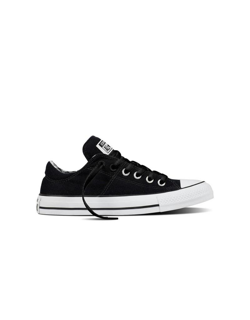 CONVERSE CHUCK TAYLOR MADISON OX BLACK/BLACK/WHITE C11MB-557970C