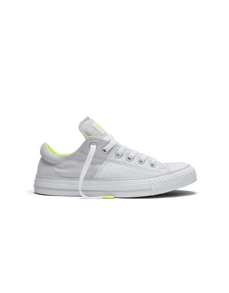 CONVERSE CHUCK TAYLOR MADISON CANVAS COLOR OX WHITE/MOUSE C10MWY-553370C