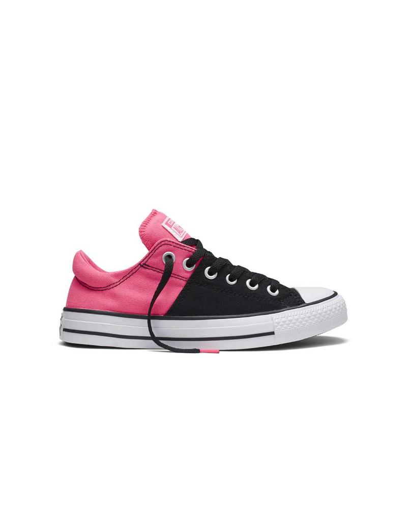 CONVERSE CHUCK TAYLOR MADISON CANVAS COLOR OX BLACK/PINK C10MBPA-553369C