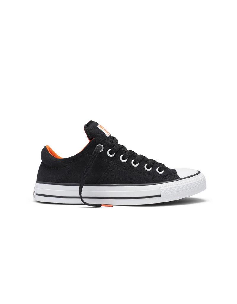 CONVERSE CHUCK TAYLOR MADISON CANVAS COLOR OX BLACK/LAVA C10MBO-553368C