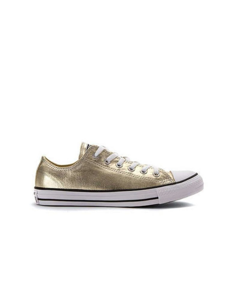 CONVERSE CHUCK TAYLOR OX LIGHT GOLD/WHITE/BLACK C10GOLD-153181F