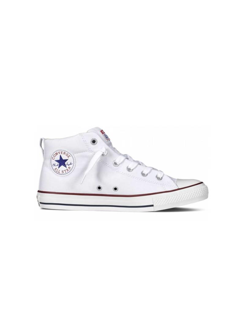 CONVERSE CHUCK TAYLOR STREET MID WHITE NATURAL C598OP - 149546C