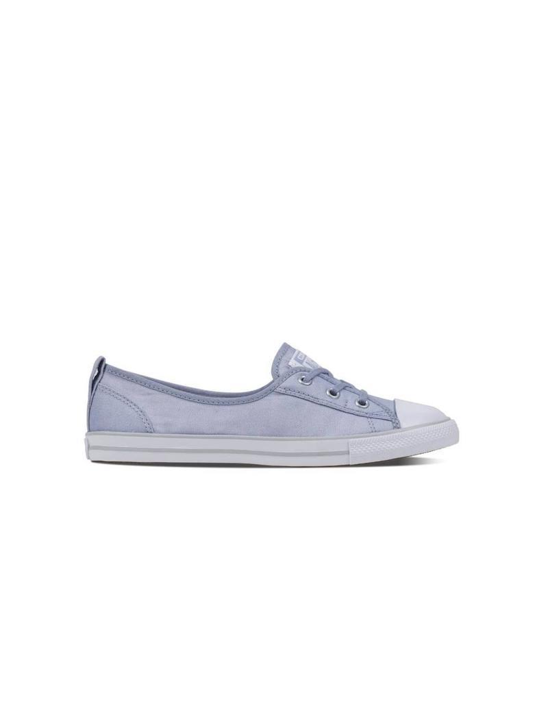 CONVERSE CHUCK TAYLOR BALLET LACE SLIP BLUE GRANITE/WHITE C782BG-555870C