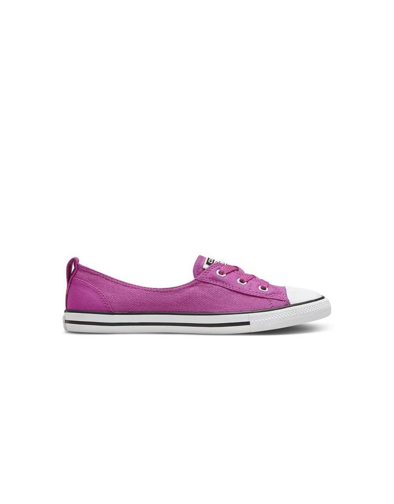 CONVERSE Chuck Taylor All Star  BALLET LACE SLIP PLASTIC PINK WHITE