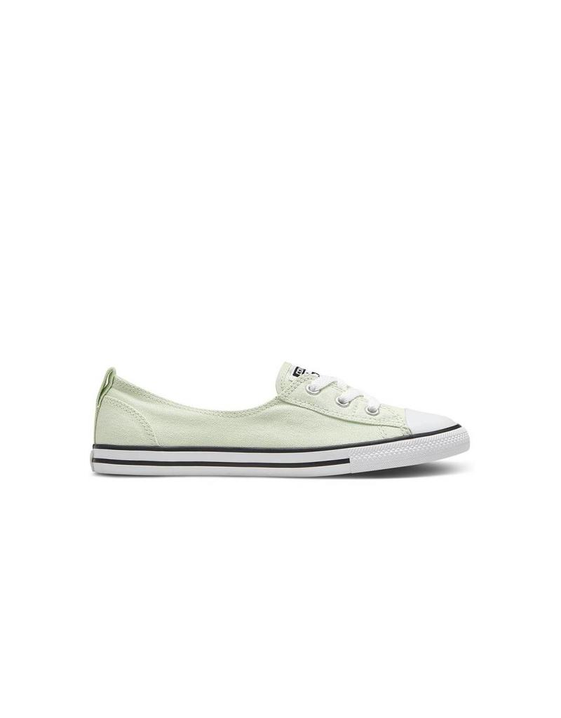 CONVERSE Chuck Taylor All Star  BALLET LACE SLIP GREEN BLACK C683GR-551504C