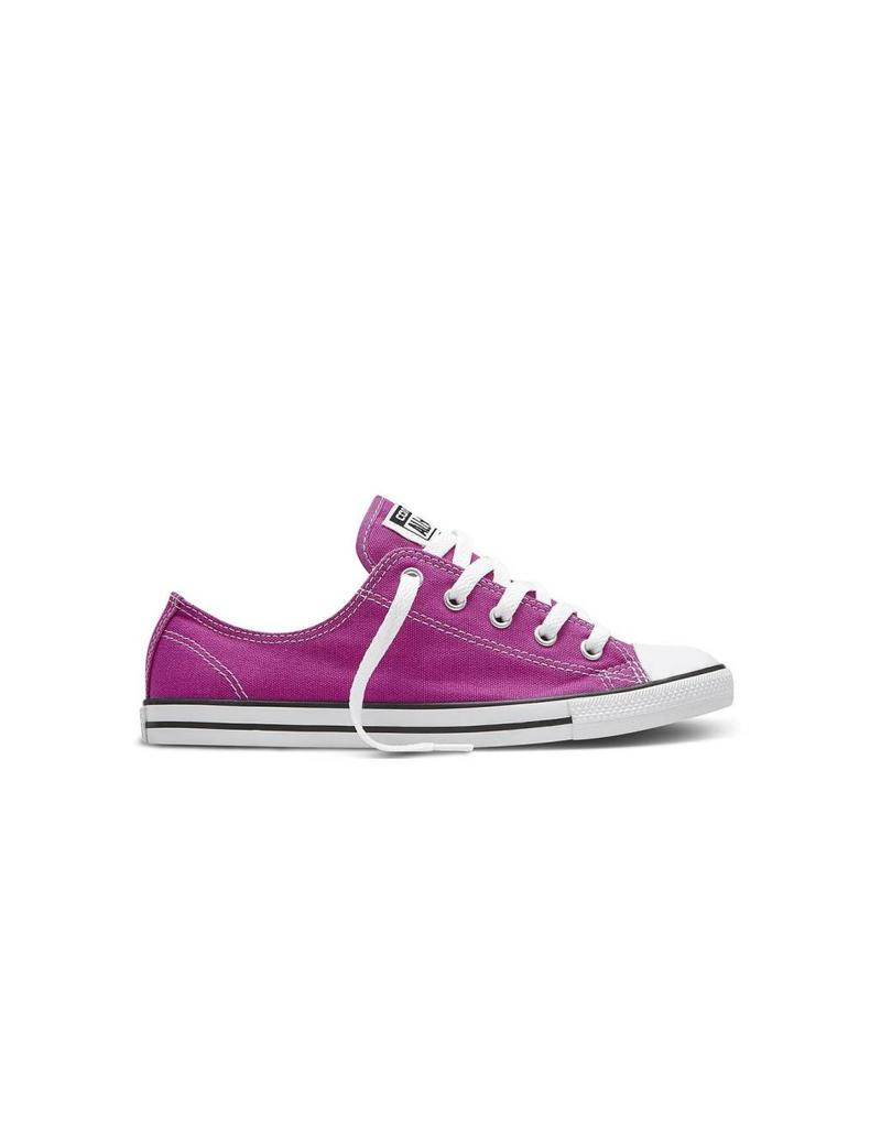 CONVERSE Chuck Taylor All Star  DAINTY OX PLASTIC PINK BLACK C640DPAP-551514C