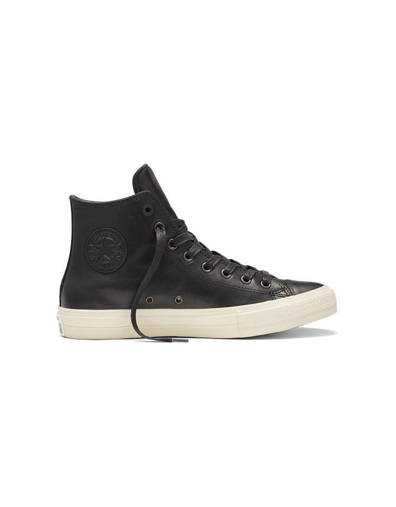 CONVERSE CHUCK TAYLOR II JOHN VARVATOS HI LEATHER BLACK/TURTLEDOVE CC17JVB-153888C