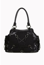 BANNED - Stand Still Pentagram Handbag