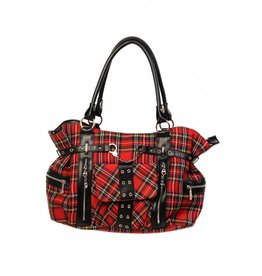 BANNED Banned Rise Up Tartan Bag