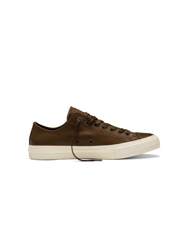 CONVERSE CHUCK TAYLOR II JOHN VARVATOS OX LEATHER TURTLEDOVE/TURTLE CCT11JVDC-153896C
