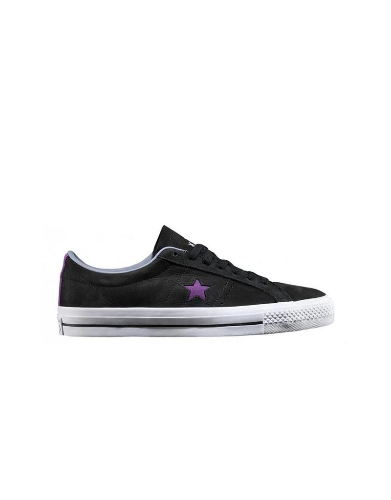 CONVERSE ONE STAR LEATHER OX PRO DINOSAUR JR BLACK CC786DINO-158660C