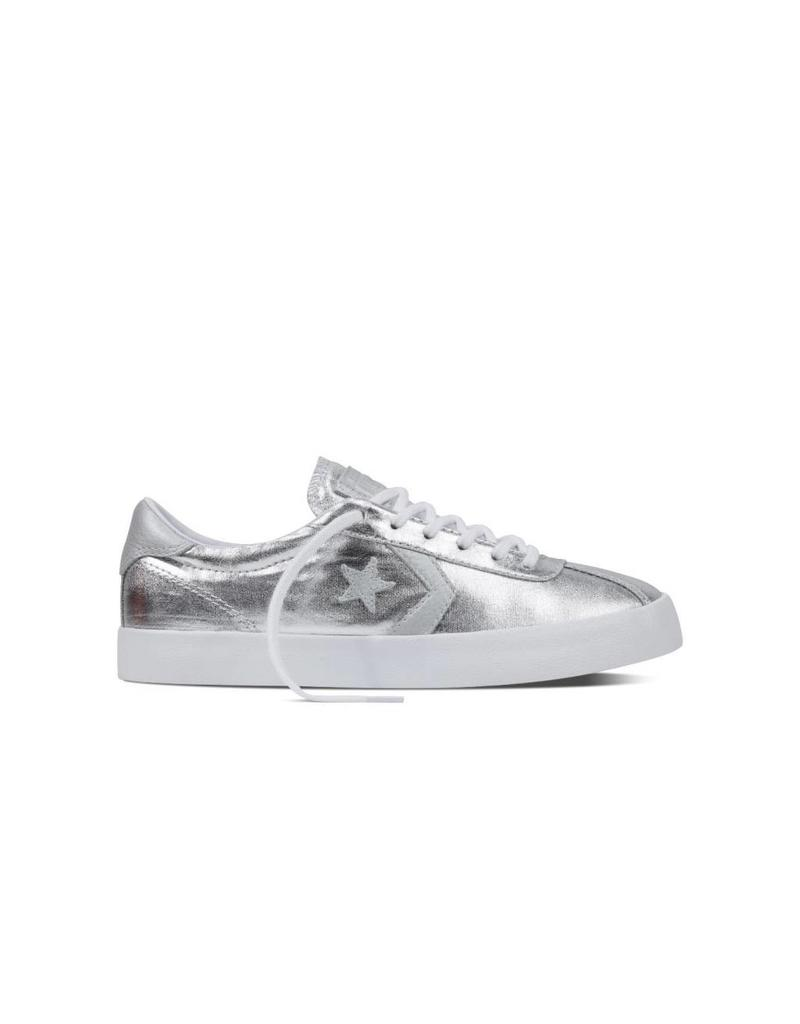 CONVERSE BREAKPOINT OX PURE SILVER/WHITE/WHITE C786PS-555949C