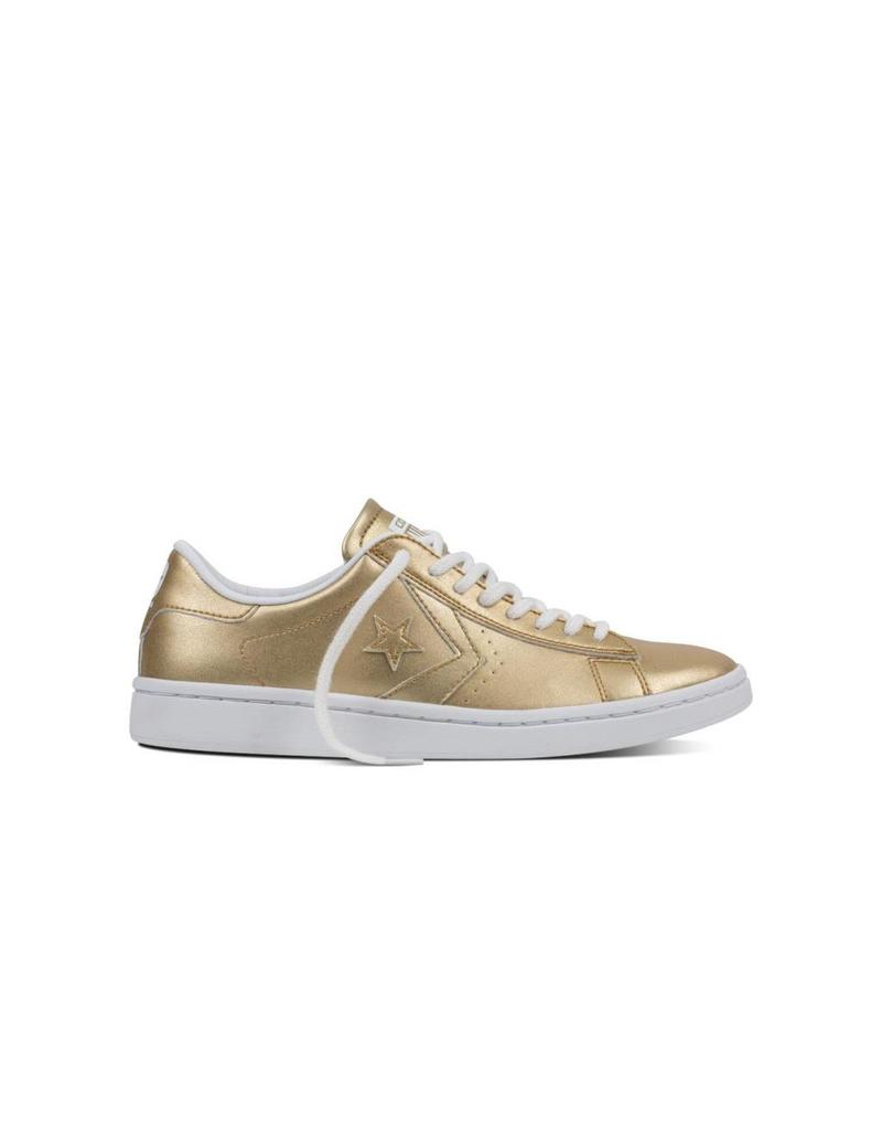 CONVERSE PL LP OX LIGHT GOLD/WHITE/WHITE CC786LG-555946C