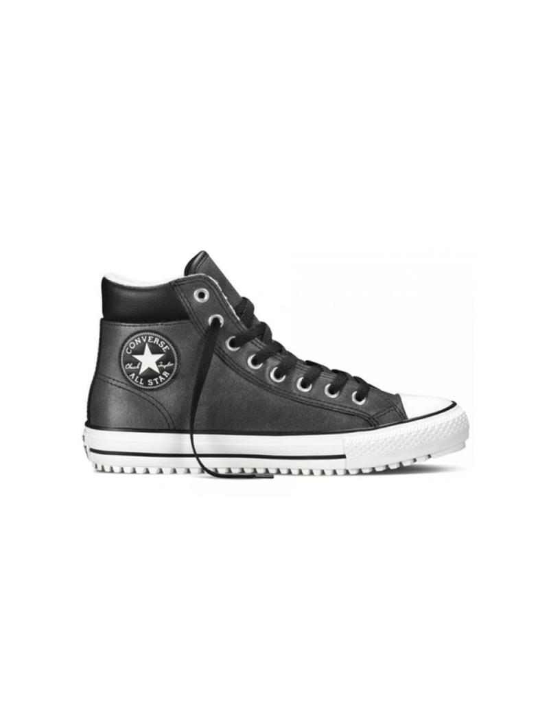 CONVERSE CONVERSE BOOT HI BLACK LEATHER CC15BSB-149389C