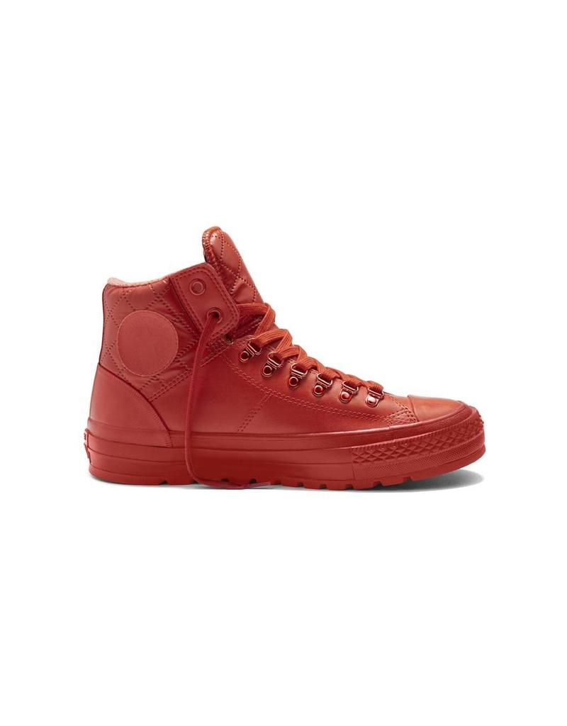 CONVERSE CHUCK TAYLOR STREET HIKER RUBBER HI SIGNAL RED/RED/RED C634MR-153664C