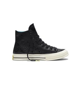 CONVERSE CHUCK TAYLOR 70 HI BLACK/SPRAY PAINT BLUE/EGRET -155358C