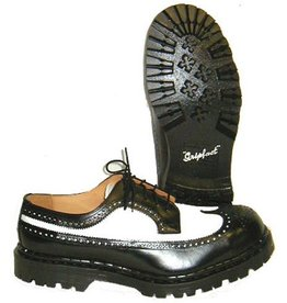 TREDAIR TREDAIR BROGUE BLACK/WHITE NO STEELTOE T502NBNC