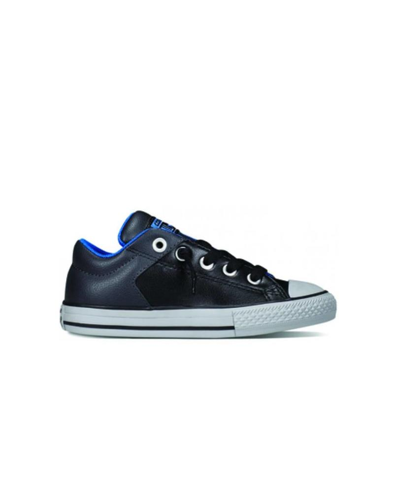 CONVERSE CT HIGH STREET SLIP BLACK BLUE CiSSB-650002C