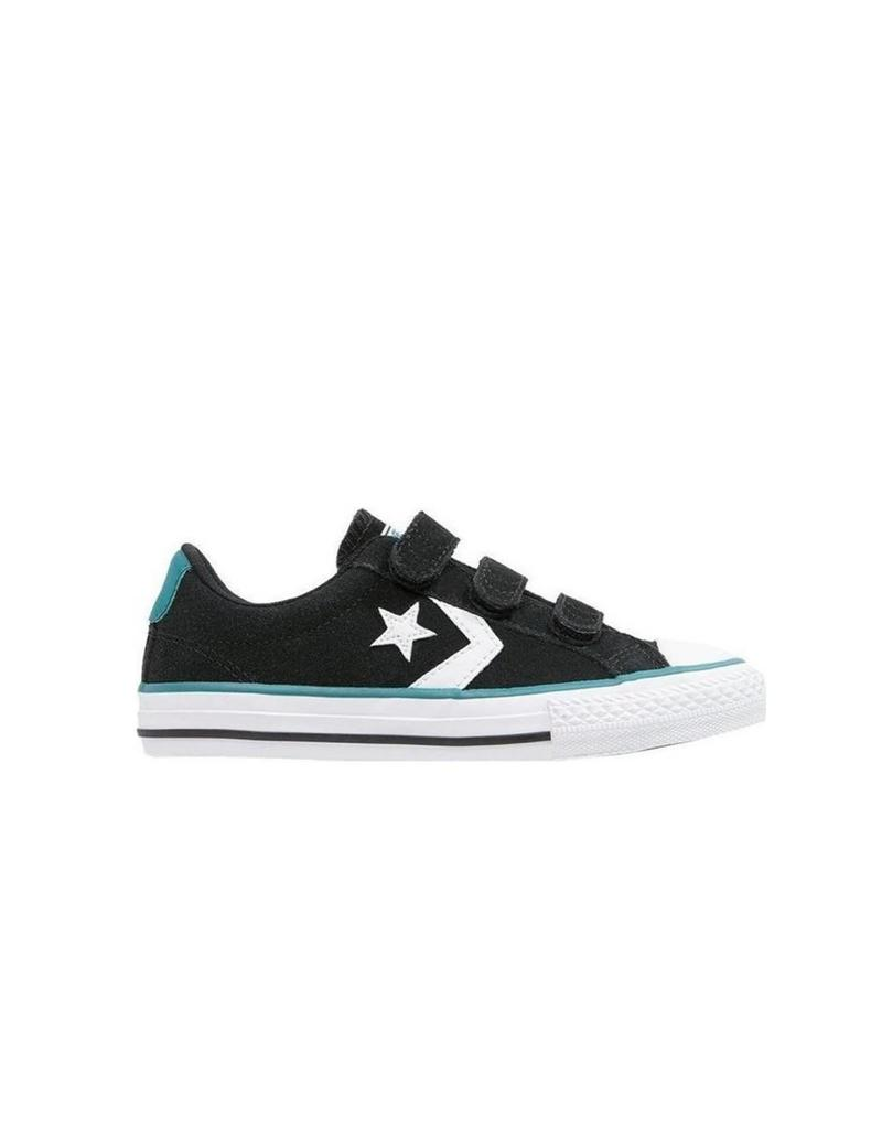 CONVERSE STAR PLAYER 3V OX BLACK/WHITE/COOL JADE CVVJA-654360C