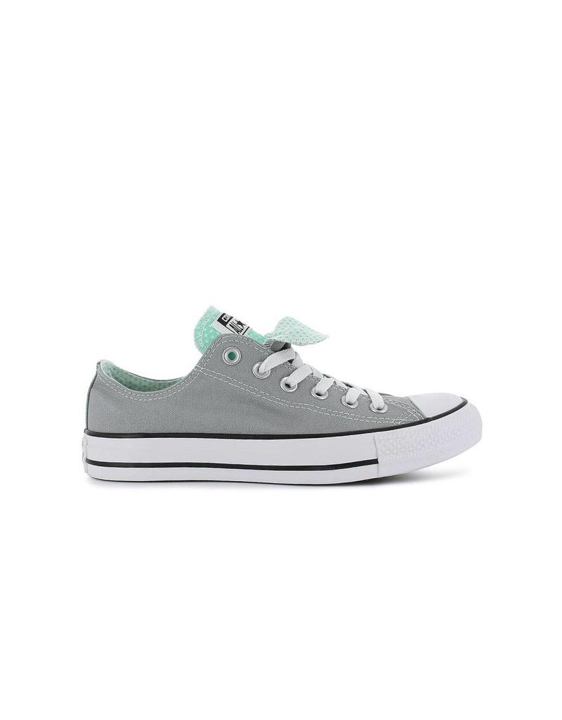 CONVERSE CHUCK TAYLOR DOUBLE TONGUE OX DOLPHIN/GREEN GLOW C11DD-556600F