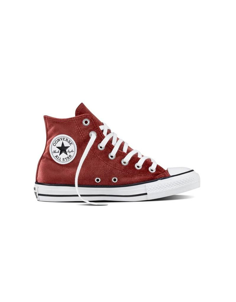 CONVERSE CHUCK TAYLOR HI RED BLOCK/WHITE/WHITE C17VR-557932C