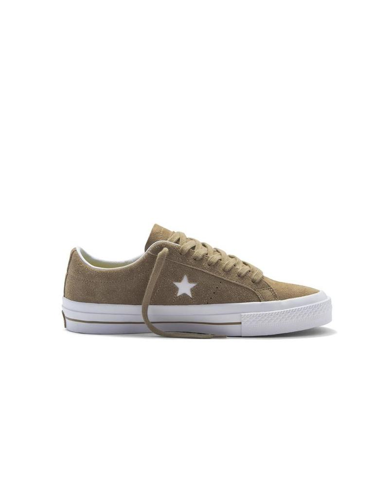 CONVERSE ONE STAR SUEDE OX SANDY/WHITE/WHITE CS686SA-153965C