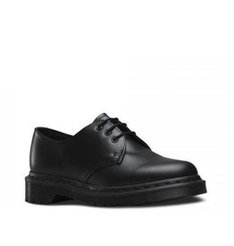 DR. MARTENS 1461 MONO BLACK SMOOTH 301MO-R14345001