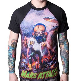 KREEPSVILLE 666 - Mars Attack B Movie Babe T-Shirt