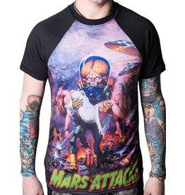 KREEPSVILLE 666 - Mars Attack B Movie Babe T-Shirt