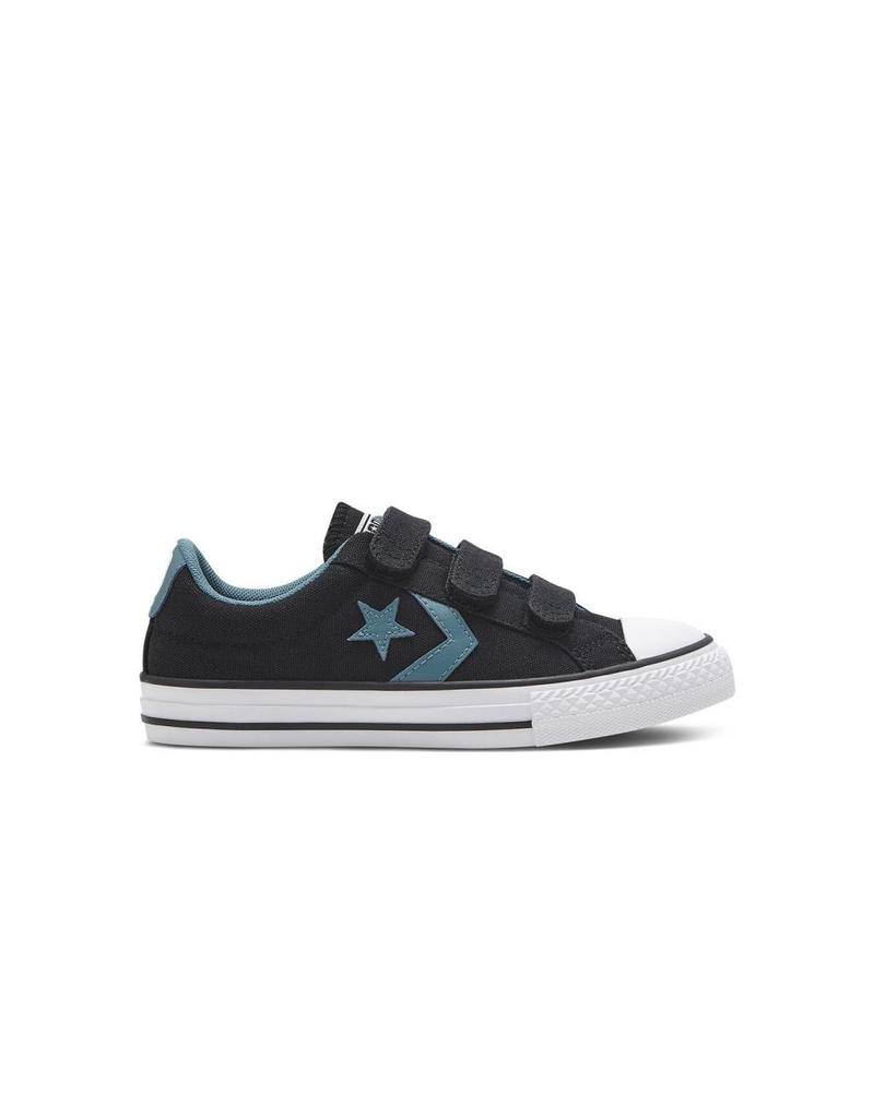 CONVERSE STAR PLAYER EV 3V OX BLACK SEASIDE BLUE CVVB-651822C