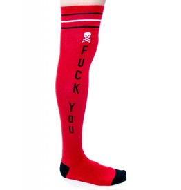SOURPUSS SOURPUSS - Red Fuck You Socks