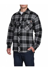 DICKIES Quilted Snap Front Plaid Shirt