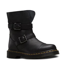 DR. MARTENS KRISTY BLACK VIRGINIA+DARKEN SUEDE R20345001-M97B