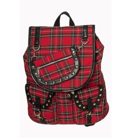 BANNED - Yamy Tartan BackPack