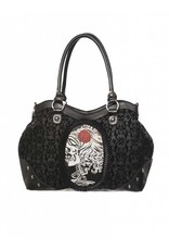 BANNED Banned Cameo Lady Rose Handbag
