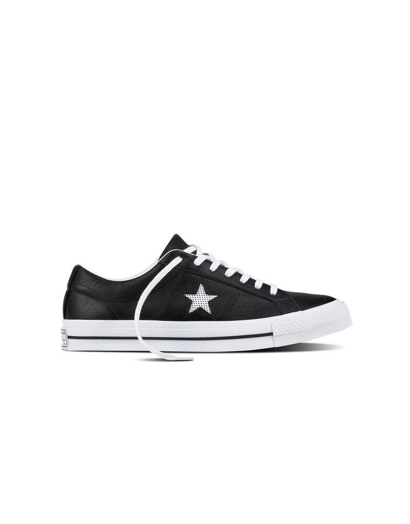 CONVERSE ONE STAR OX BLACK/WHITE/WHITE CC787B-158465C