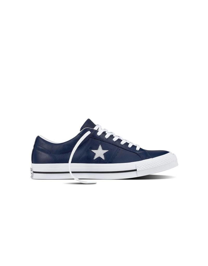 CONVERSE ONE STAR OX MIDNIGHT NAVY/WHITE/WHITE CC787N-158463C