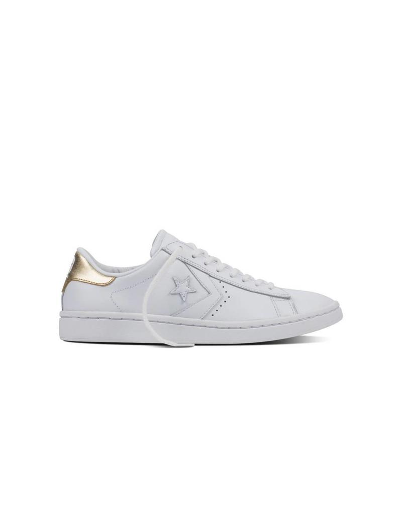 CONVERSE PL LP OX WHITE/LIGHT GOLD/WHITE CC786LWG-555934C
