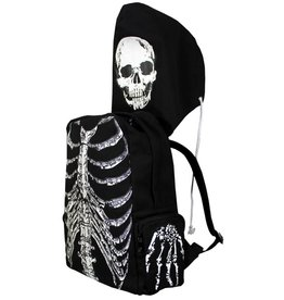 BANNED - Skeleton Backpack + Cap