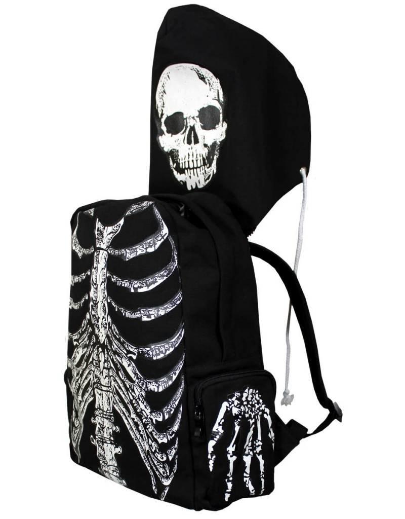 BANNED - Skeleton Backpack + Cap