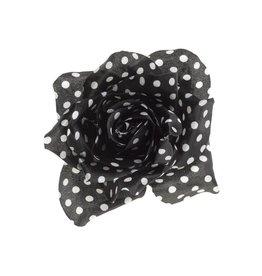 SOURPUSS - Polka Dot Flower Hair Clip
