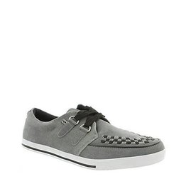 CREEPERS SUEDE GREY/BLACK T14GRY-A8347