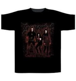 Immortal Damned In Black Shirt