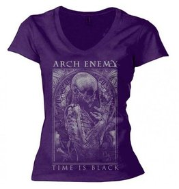 Arch Enemy Time is Black Tiny (Womens)
